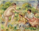 Pierre Auguste Renoir - Young Girls in the Countryside, 1916
