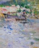 Berthe Morisot - The Port, Nice, 1882