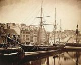 Gustave Le Gray - The Imperial Yacht 'La Reine Hortense' at Le Havre, 1856