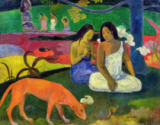 Paul Gauguin - Arearea , 1892