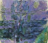 Claude Monet - Waterlilies, 1916-19