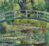 Claude Monet - The Water Lily Pond and Bridge