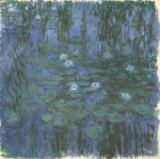 Claude Monet - Blue Nympheas