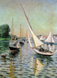 Gustave Caillebotte - Regatta at Argenteuil, 1893