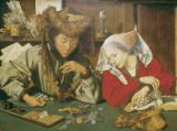 Marinus van Reymerswaele - The Moneylender and his Wife