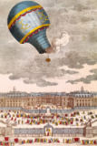 French School - The Ballooning Experiment at the Chateau de Versailles, 19th September, 1783
