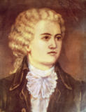 Austrian School - Wolfgang Amadeus Mozart (1756-91) during his stay in Prague in 1787