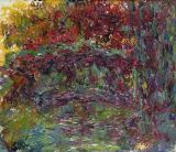 Claude Monet - The Japanese Bridge at Giverny, 1918-24