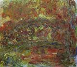 Claude Monet - The Japanese Bridge, 1918-24