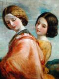 George Frederick Watts - Two Young Women Walking
