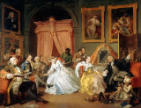 William Hogarth - Marriage a la Mode: IV, The Toilette, c.1743