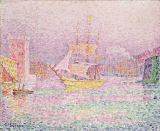 Port of Marseille, 1906-07 von Paul Signac