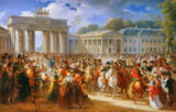 Charles Meynier - Entry of Napoleon I (1769-1821) into Berlin, 27th October 1806, 1810