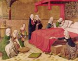 Master of the Life of Virgin Mary - The Birth of the Virgin