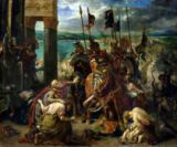 Eugène Delacroix - The Crusaders' entry into Constantinople, 12th April 1204, 1840