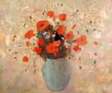 Odilon Redon - Vase of poppies