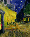 Vincent van Gogh - Cafe Terrace, Place du Forum, Arles, 1888