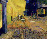 Vincent van Gogh - Cafe Terrace, Place du Forum, Arles, 1888  (detail of 192281)