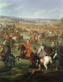 John Wootton - Detail of The Battle of Blenheim on the 13th August 1704, c.1743
