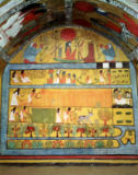 Egyptian 19th Dynasty - Harvest Scene on the East Wall, from the Tomb of Sennedjem, The Workers' Village, New Kingdom