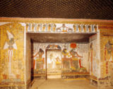 Egyptian 19th Dynasty - Two rooms from the Tomb of Nefertari