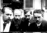 French Photographer - Ker Xavier Roussel (1867-1944) Edouard Vuillard (1968-1940) Romain Coolus (1868-1952) and Felix Vallotton (1865-1925)