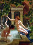 Sir Edward John Poynter - Water Babies, 1900