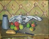 Paul Cézanne - Fruit, Serviette and Milk Jug, c.1879-82
