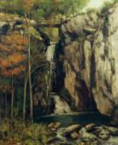 Gustave Courbet - The Chasm at Conches, 1864