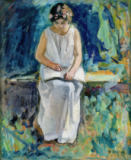 Henri Lebasque - Girl Reading