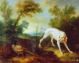 Jean-Baptiste Oudry - Blanche, Bitch of the Royal Hunting Pack