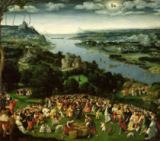 Joachim Patenier or Patinir - The Feeding of the Five Thousand