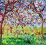 Claude Monet - Spring in Giverny, 1903