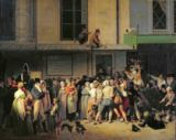 Louis-Léopold Boilly - The Entrance to the Theatre de l'Ambigu-Comique before a Free Performance, 1819