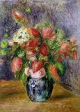 Pierre Auguste Renoir - Vase of Flowers, c.1909