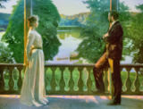 Sven Richard Bergh - Nordic Summer Evening, 1899-1900