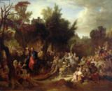 Nicolas de Largilliere - The Entry of Christ into Jerusalem, c.1720
