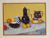 Vincent van Gogh - Still Life with Blue Enamel Coffeepot, Earthenware and Fruit, 1888