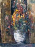 Paul Cézanne - Vase of Flowers, c.1897-98