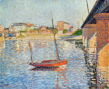 Paul Signac - Le Clipper, Asnieres, 1887