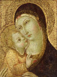 Sano di Pietro - Madonna and Child