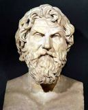 Greek School - Bust of Antisthenes (c.440-c.371 BC)