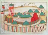 Islamic School - Ms 1671 The Imperial Camp, c.1580