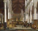 Emanuel de Witte - Church Interior