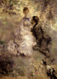 Pierre Auguste Renoir - The Lovers, c.1875