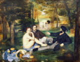 Edouard Manet - Lunch on the Grass