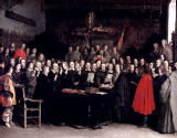 Gerard ter Borch - The Swearing of the Oath of Ratification of the Treaty of Munster, 1648