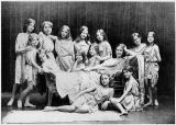 Paul Berger - Isadora Duncan (1877-1927) and her pupils from the Grunewald School, 1908