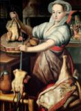 Pieter Aertsen - Martha Preparing Dinner for Jesus