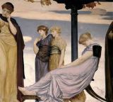 Lord Frederick Leighton - Detail of 'Music', c.1883-85